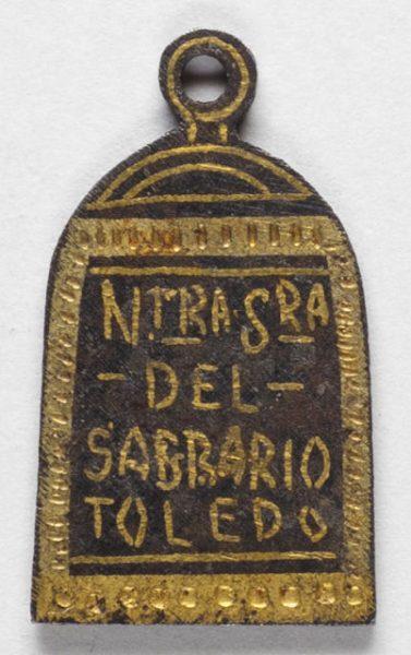 Luis Alba - Medalla de la Virgen del Sagrario - 178 reverso