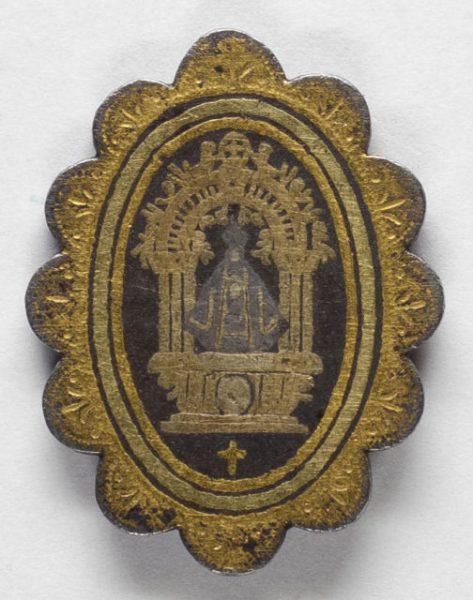 Luis Alba - Medalla de la Virgen del Sagrario - 185 anverso
