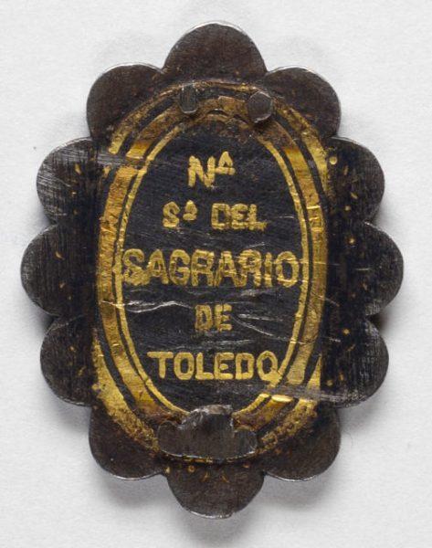 Luis Alba - Medalla de la Virgen del Sagrario - 185 reverso