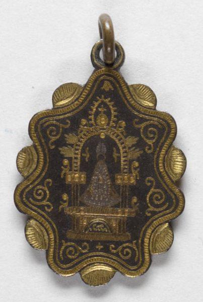 Luis Alba - Medalla de la Virgen del Sagrario - 186 anverso