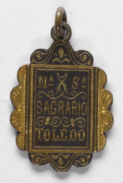 Luis Alba - Medalla de la Virgen del Sagrario - 186 reverso