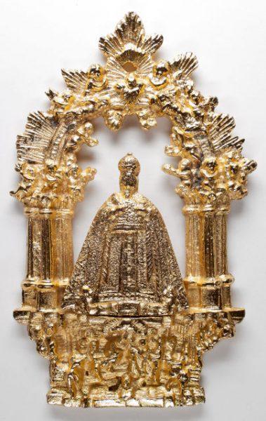 Luis Alba - Medalla de la Virgen del Sagrario - 206 anverso