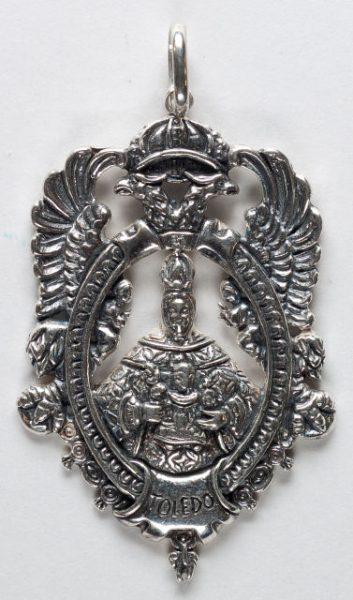 Luis Alba - Medalla de la Virgen del Sagrario - 213 anverso