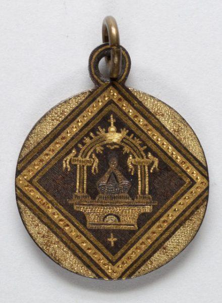 Luis Alba - Medalla de la Virgen del Sagrario - 214 anverso