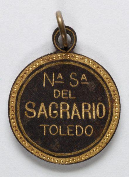 Luis Alba - Medalla de la Virgen del Sagrario - 214 reverso
