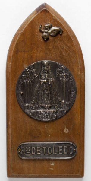 Luis Alba - Medalla de la Virgen del Sagrario - 225 anverso