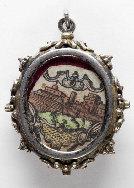 Luis Alba - Medalla de la Virgen del Sagrario - 230 reverso