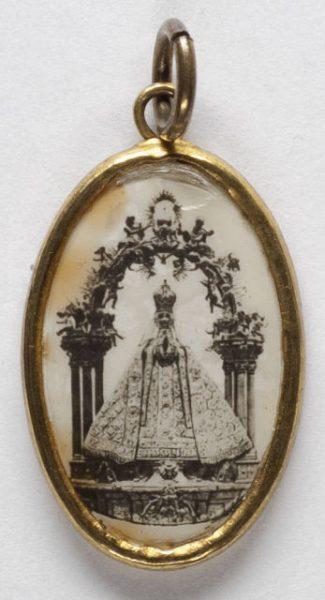 Luis Alba - Medalla de la Virgen del Sagrario - 236 anverso