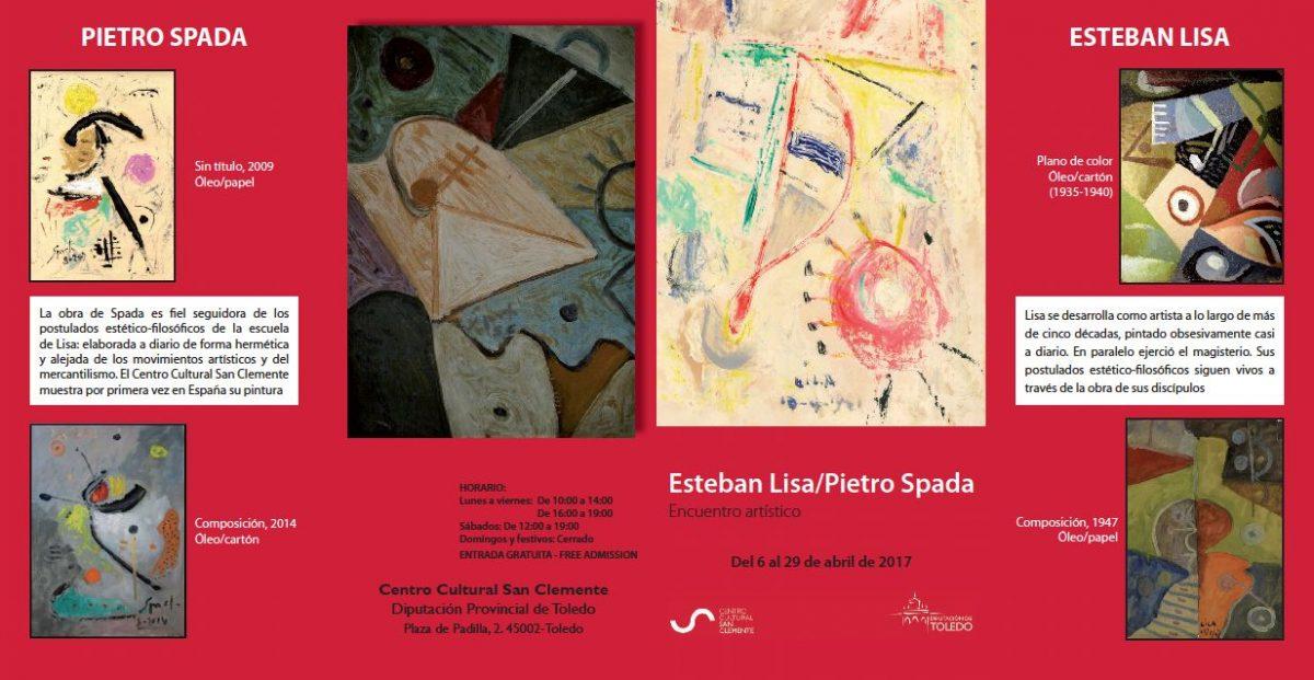 Exposición Esteban Lisa/Pietro Spada