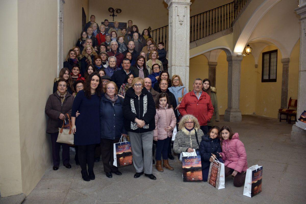 Recepción en el Ayuntamiento de la Asociación de Mujeres de Las Escuelas de Baeza
