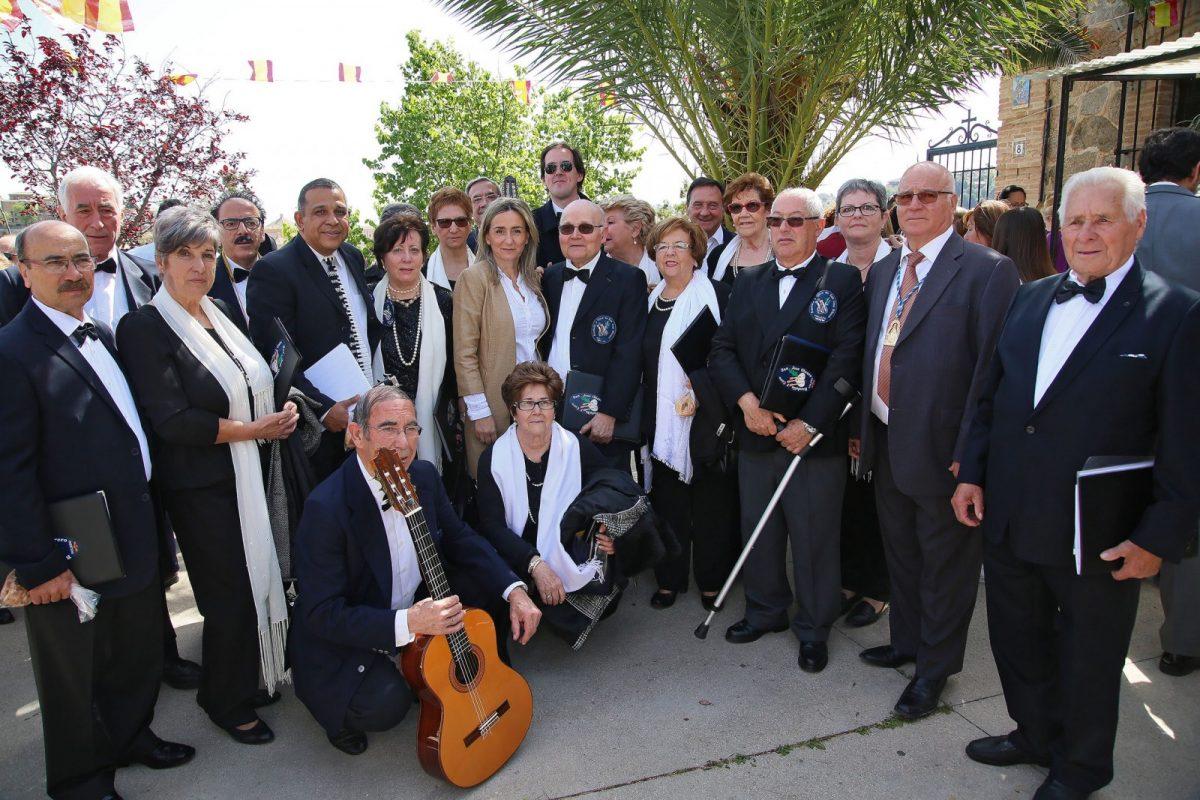 Milagros Tolón asiste a la Virgen de la Cabeza, que inaugura el calendario de romerías de la ciudad