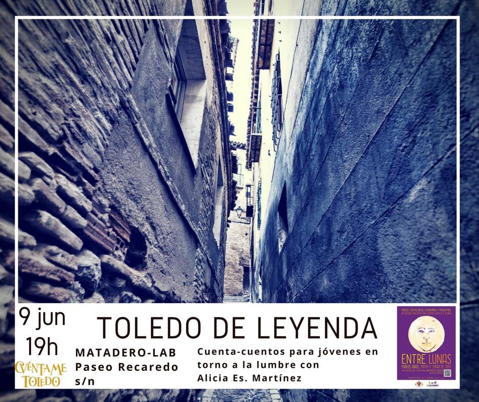 """Cuentacuentos para jóvenes """"Toledo, una ciudad de leyenda"""""""