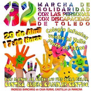 32 Marcha de la Solidaridad con las Personas con Discapacidad de Toledo