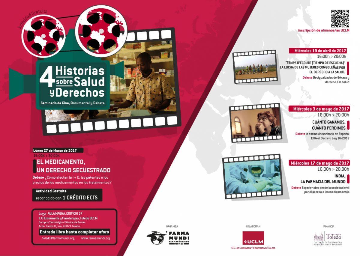 """https://www.toledo.es/wp-content/uploads/2017/04/cartel-toledo-ciclo-cine-1200x854-1-1200x854.jpg. Ciclo de cine """"Salud y derechos"""": """"India, la farmacia del mundo"""""""