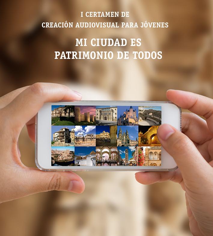 """http://www.toledo.es/wp-content/uploads/2017/04/cartel-vertical-certamen-mi-ciudad-es-patrimonio-de-todos.png. I Certamen de Creación Audiovisual Para Jóvenes: """"MI CIUDAD ES PATRIMONIO DE TODOS"""""""