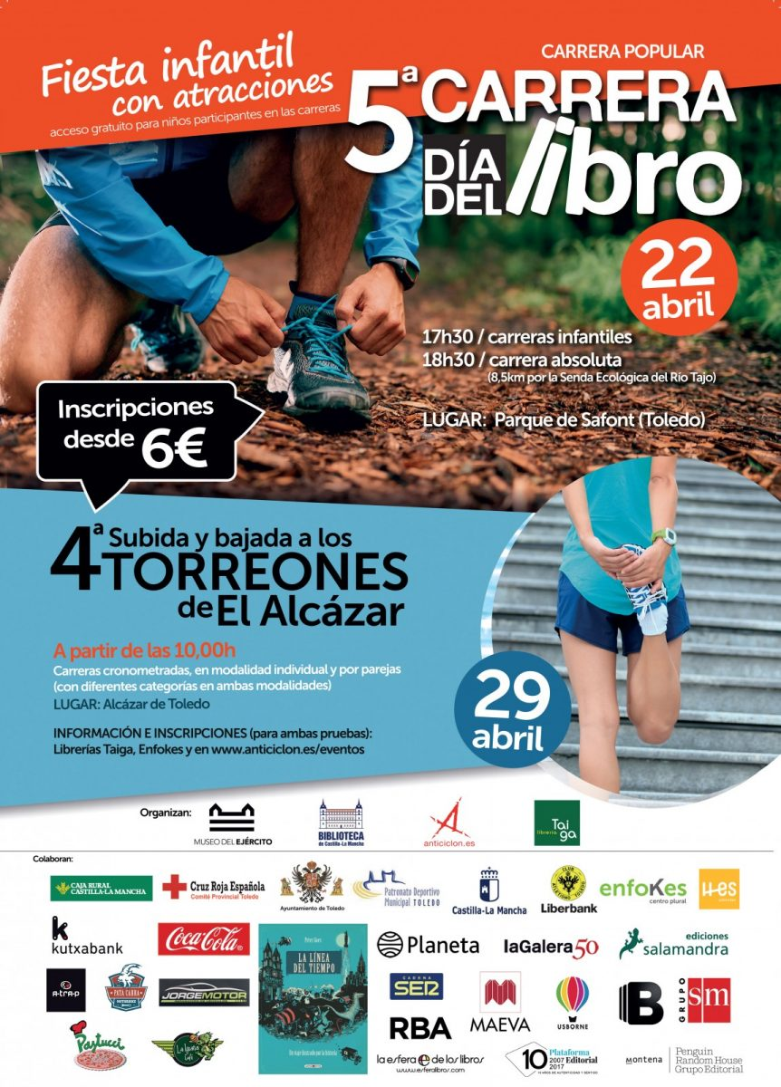 5ª Carrera Popular Día del Libro 22 de abril