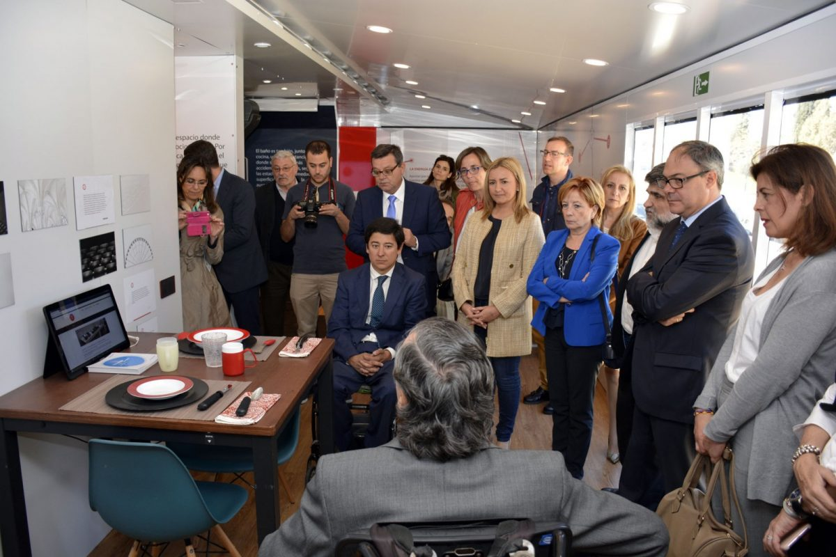 Ya se puede visitar en Toledo la casa inteligente, accesible y sostenible que propone la Fundación ONCE