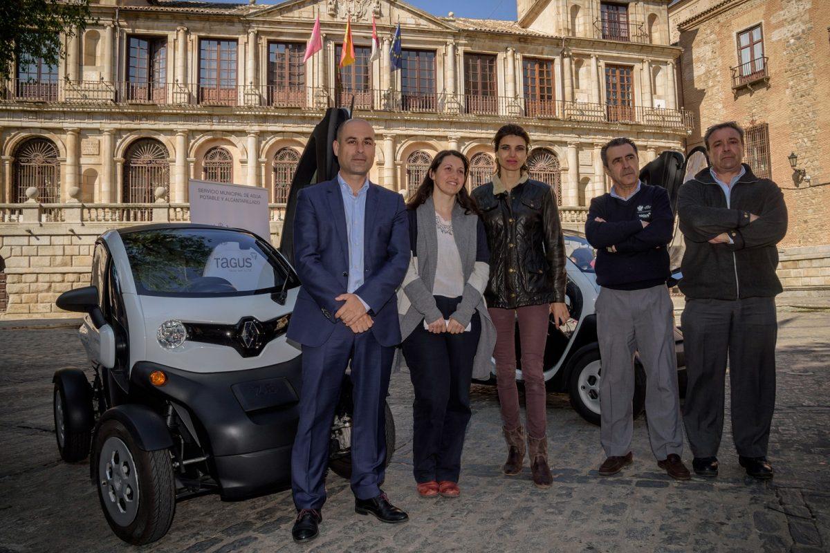 El Servicio de Abastecimiento de Agua se suma a la estrategia municipal de eficiencia energética con dos vehículos eléctricos