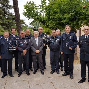 Diez agentes de Toledo, distinguidos en el acto de entrega de condecoraciones a policías locales de Castilla-La Mancha