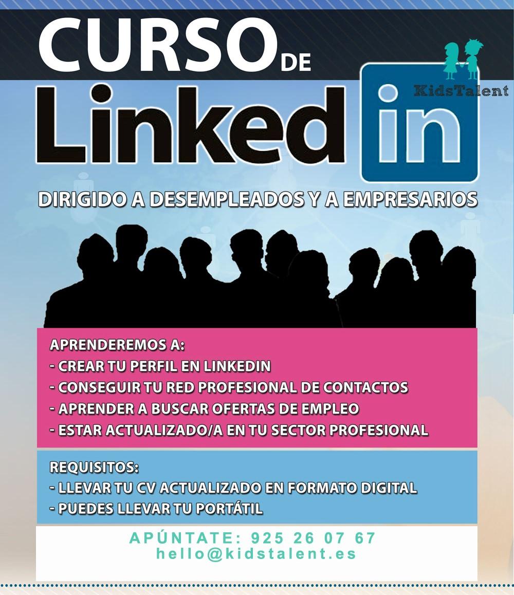 https://www.toledo.es/wp-content/uploads/2017/04/curso-linkedin.jpg. Aprende a utilizar la red social de los profesionales. LINKEDIN