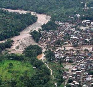 spaña aporta ayuda humanitaria para la población afectada por la avalancha en Mocoa, Colombia