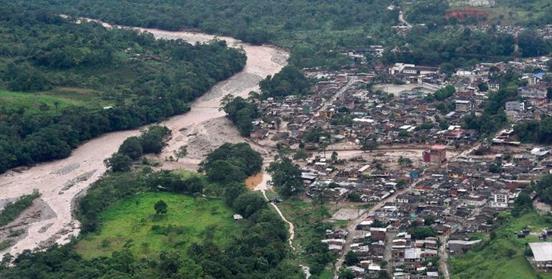 España aporta ayuda humanitaria para la población afectada por la avalancha en Mocoa, Colombia