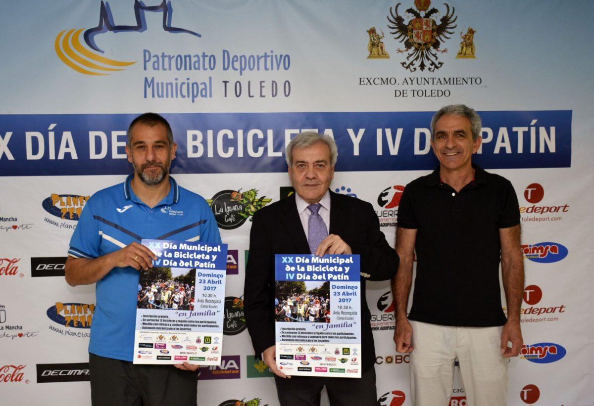 El Ayuntamiento de Toledo celebra este domingo el XX Día Municipal de la Bicicleta y el IV Día del Patín