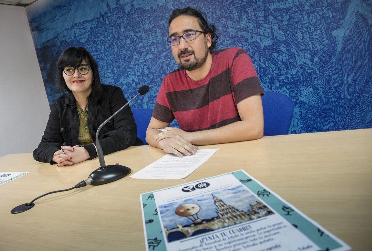 """""""Entre Lunas"""" propone a los jóvenes pintar un Toledo """"inédito"""" con motivo del 30 Aniversario"""
