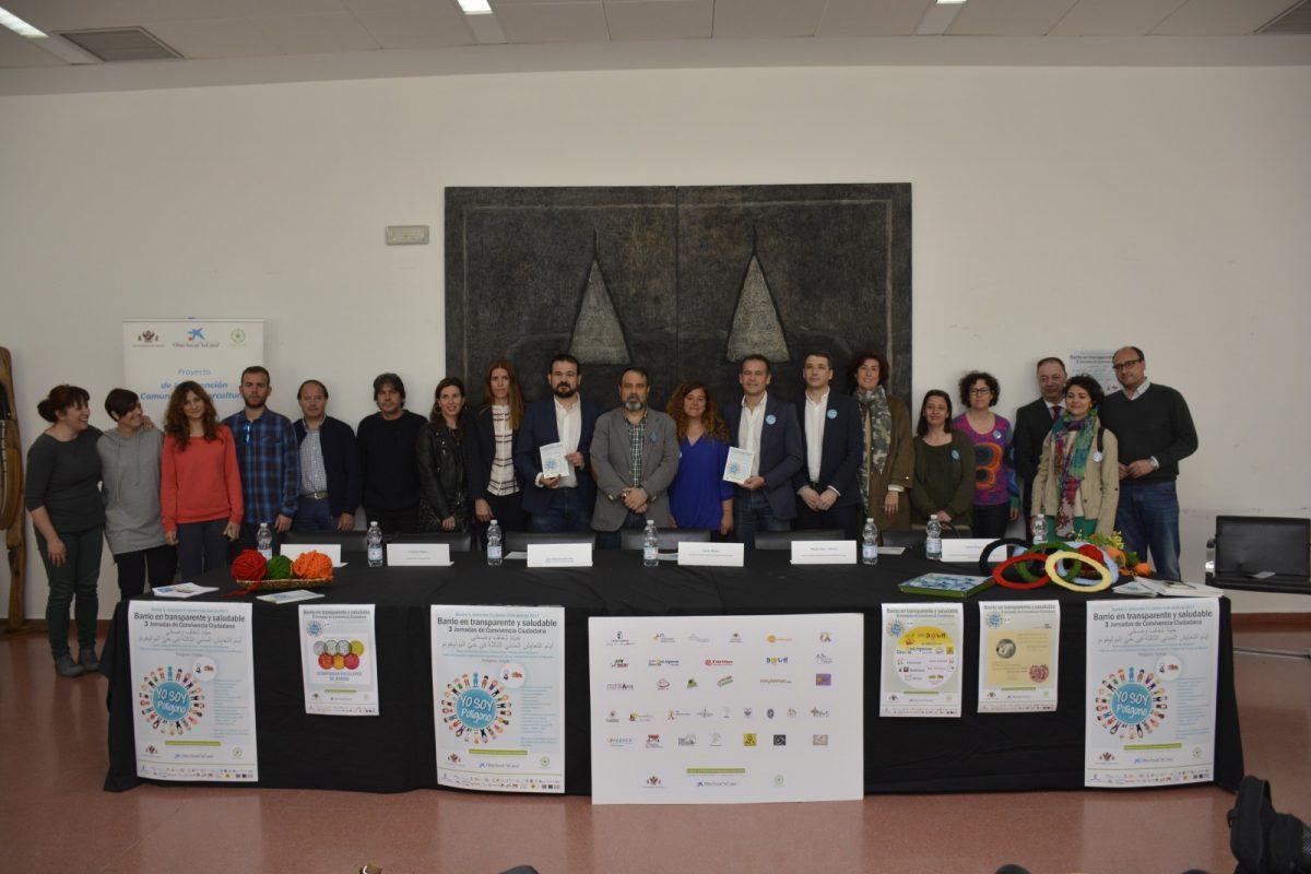 El barrio del Polígono celebra las III Jornadas de Convivencia 'Barrio en Transparente y Saludable' los días 4, 5 y 6 de abril