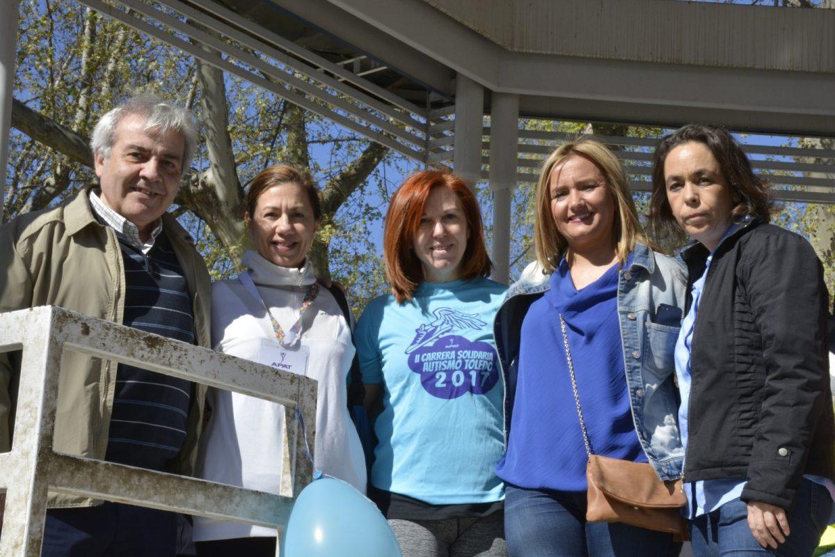 Gran respaldo a APAT en la II Carrera Solidaria Autismo-Toledo que ha congregado a alrededor de 500 participantes