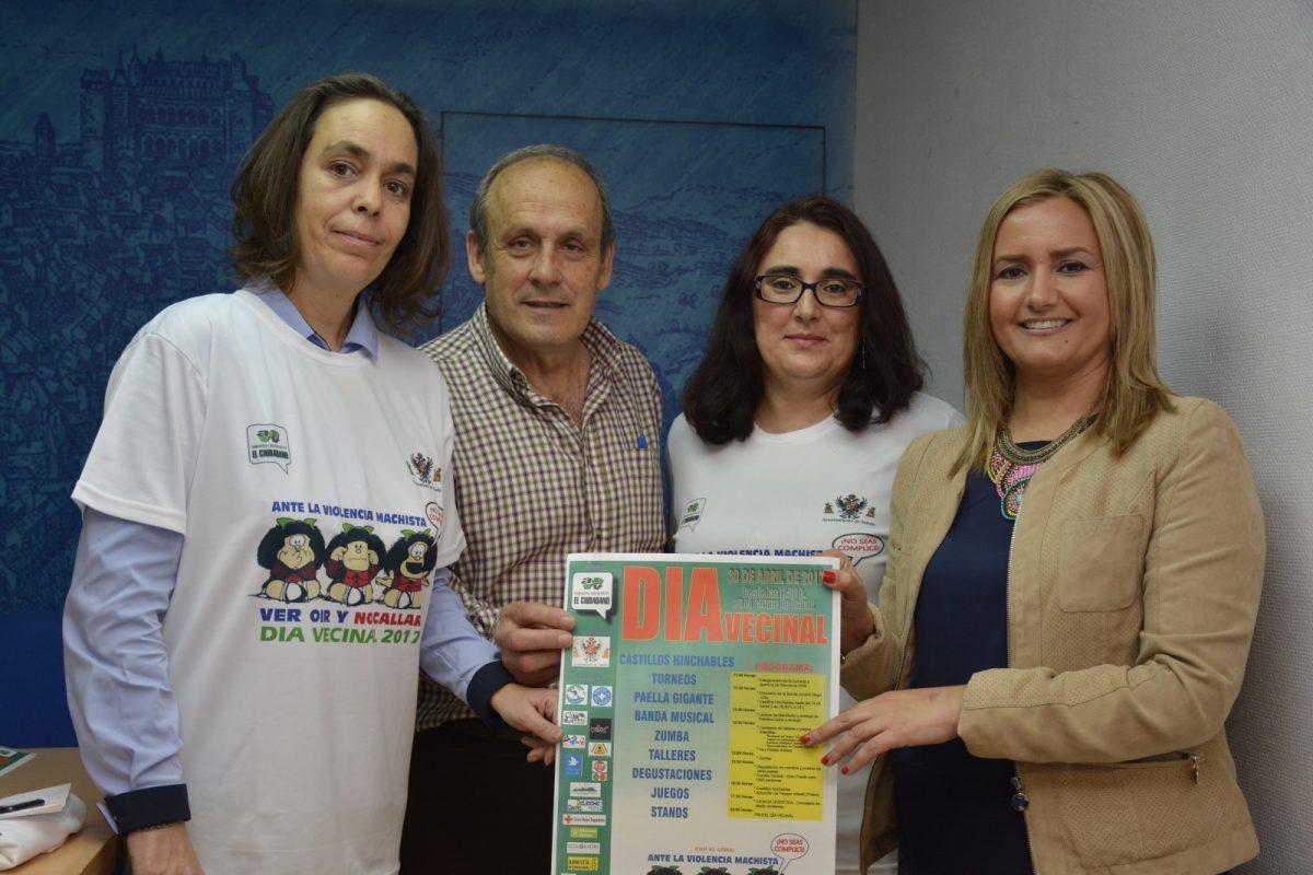 El XV Día Vecinal otorga el 'Premio Dulce' al Consejo Local de la Mujer, galardón que recogerá la alcaldesa en calidad de presidenta