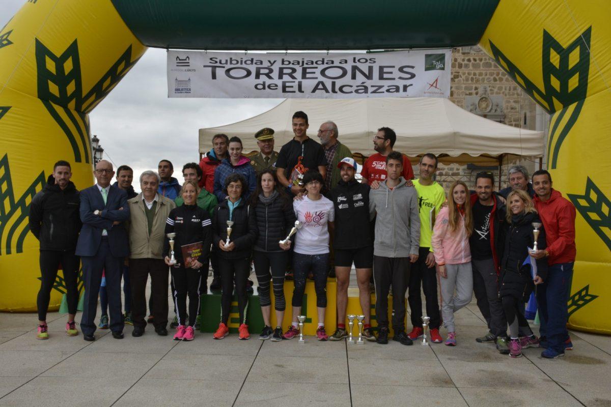 El Ayuntamiento y el Patronato Deportivo Municipal colaboran en la 4ª Carrera de atletismo Torreones del Alcázar