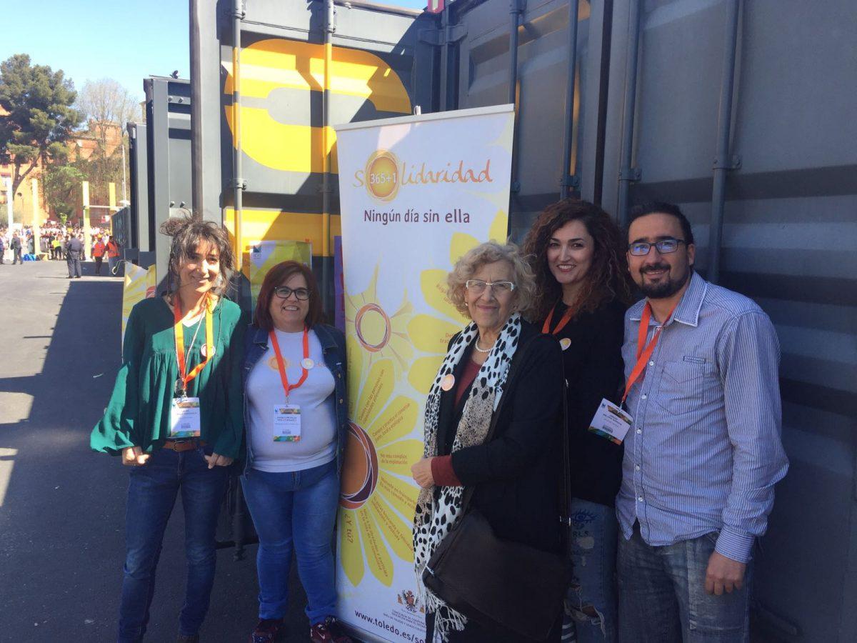 Toledo ha sido referencia en el Foro Mundial sobre las Violencias Urbanas con su iniciativa Solidaridad 365+1
