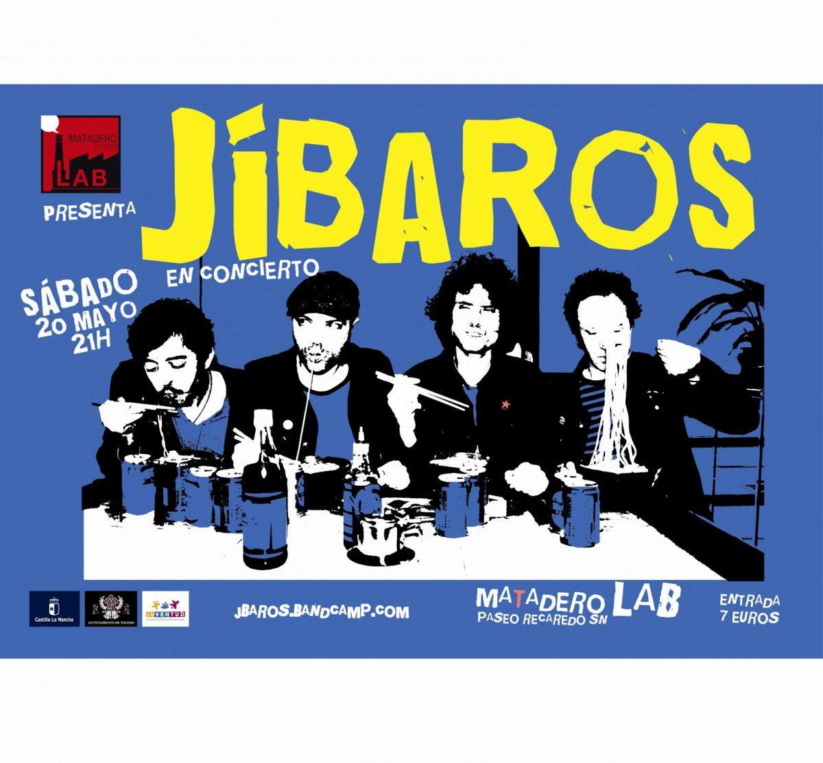 """Concierto """"JÍBAROS""""+ Pinchadiscos Nacho Bravo"""