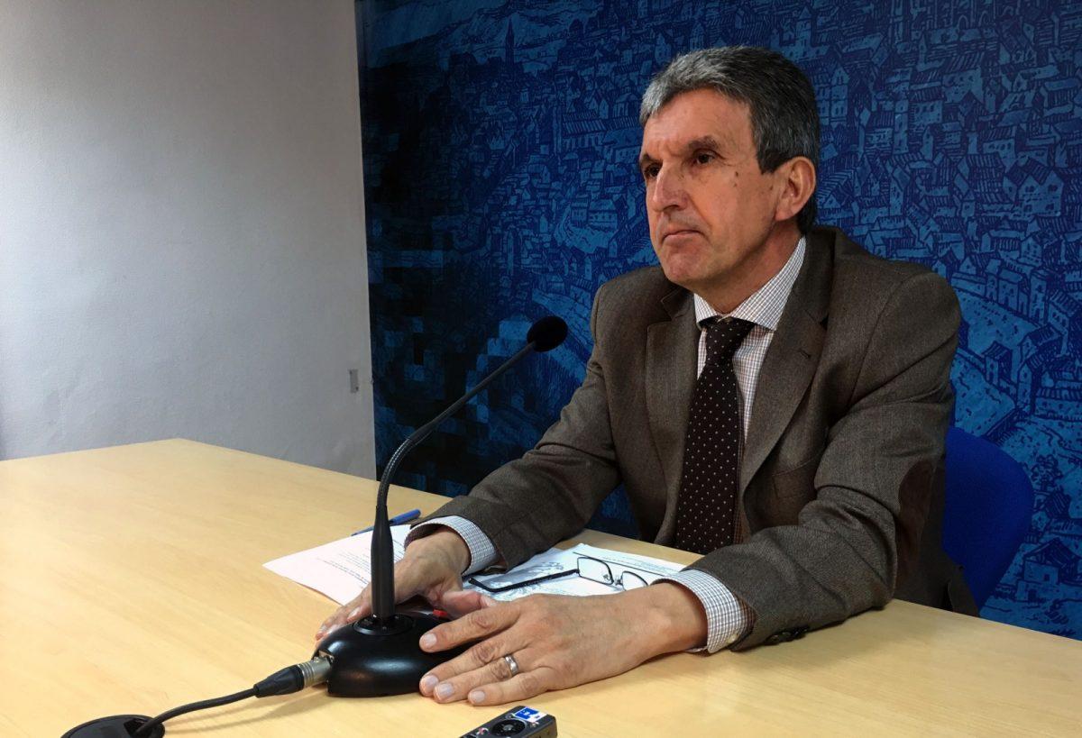 """http://www.toledo.es/wp-content/uploads/2017/04/jose_pablo_sabrido-1200x819.jpg. Las exenciones fiscales por el 30 Aniversario """"desmienten a quienes afirman que no lo habíamos solicitado"""""""