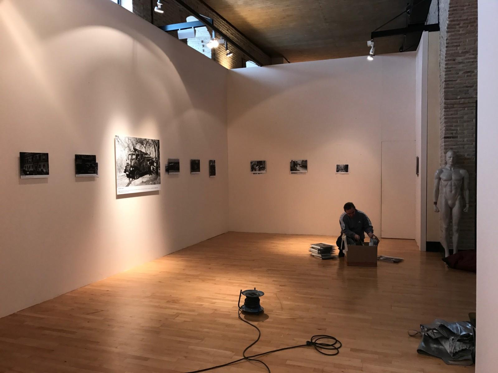 Montaje exposición 153 años Bomberos de Toledo30 años Pablo Carrasco (14)