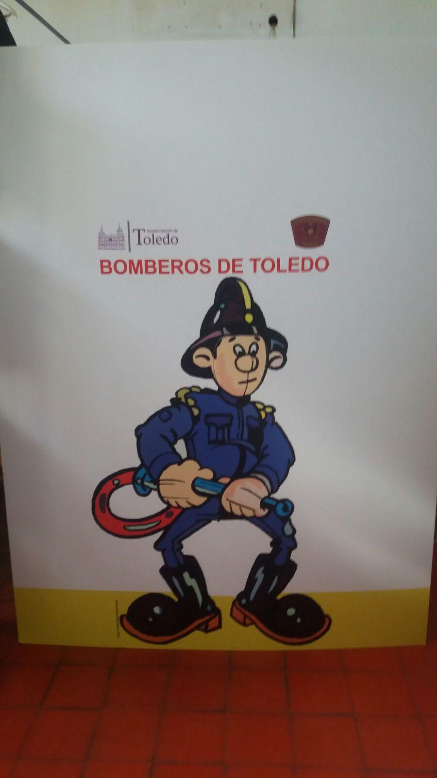 Montaje exposición 153 años Bomberos de Toledo30 años Pablo Carrasco (37)