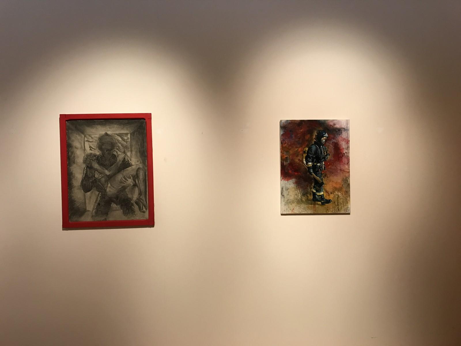 Montaje exposición 153 años Bomberos de Toledo30 años Pablo Carrasco (44)