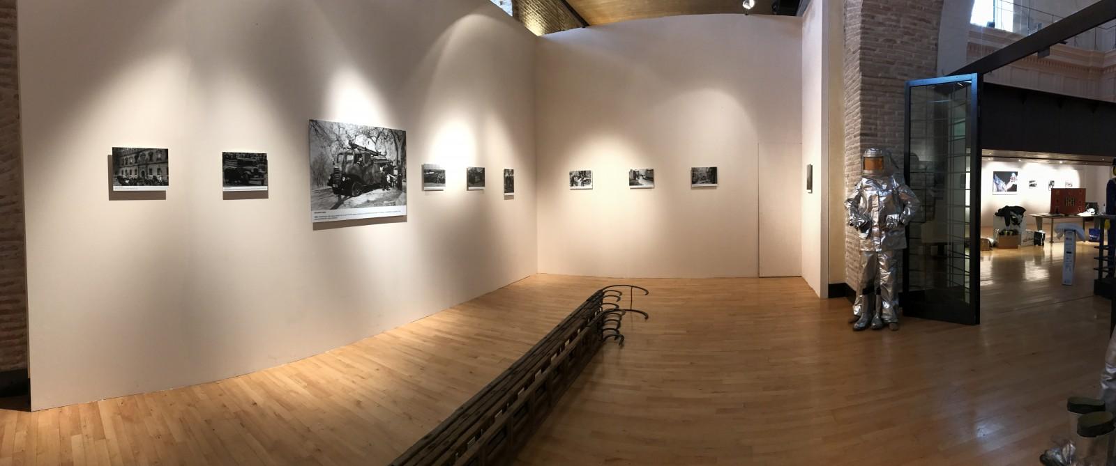 Montaje exposición 153 años Bomberos de Toledo30 años Pablo Carrasco (45)