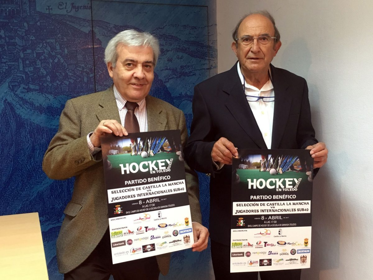 Jugadores históricos de la Selección Nacional de Hockey Hierba se darán cita este sábado en un partido benéfico en Toledo