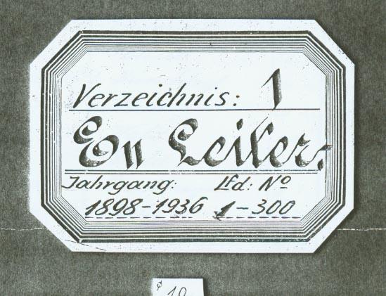 Portada libro registro escalas Magirus 1904. Bomberos de Toledo