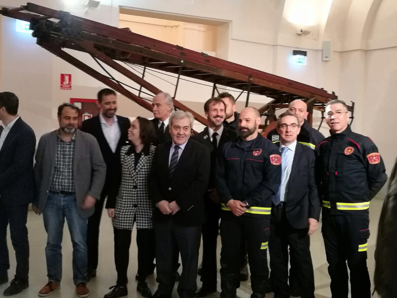 Presentación de la Exposición 150 años Bomberos de Toledo30 años Pablo Carrasco (18)