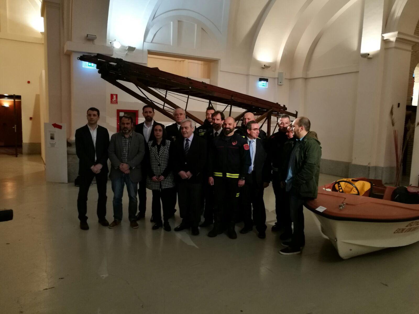 Presentación de la Exposición 150 años Bomberos de Toledo30 años Pablo Carrasco (19)