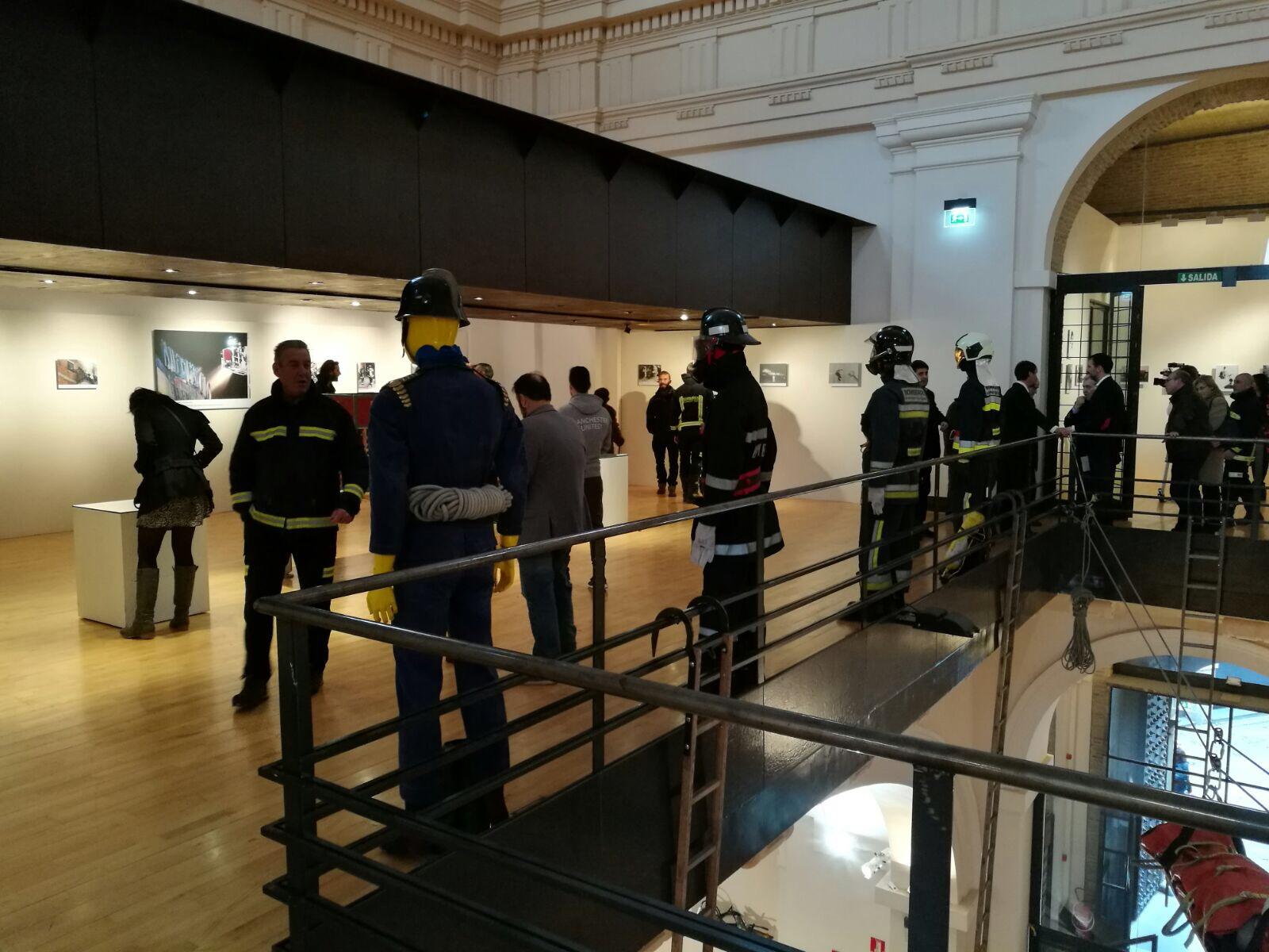 Presentación de la Exposición 150 años Bomberos de Toledo30 años Pablo Carrasco (25)