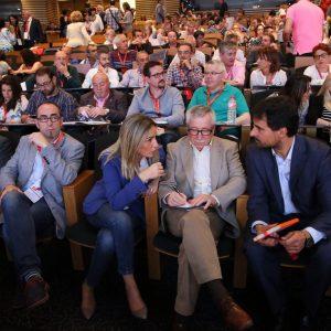 Milagros Tolón asiste a la apertura del II Congreso Federal de CCOO de Construcción y Servicios que se celebra en Toledo