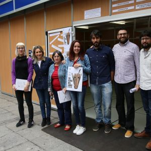 La alcaldesa destaca la importancia del patrimonio literario de Toledo en la inauguración de la Feria del Libro de la capital