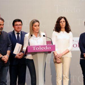 La alcaldesa de Toledo anuncia inversiones en el Polígono industrial y las riberas del Tajo con los 8,5 millones de euros del EDUSI