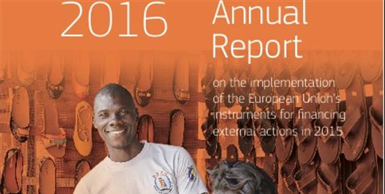 Presentación del Informe Anual EuropeAid 2016