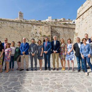La alcaldesa de Toledo participa en la Asamblea General del Grupo de Ciudades Patrimonio en la que se aprobó la hoja de ruta 2017-19