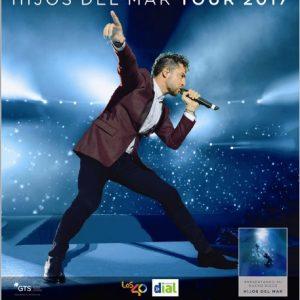 Las entradas del concierto David Bisbal se pueden adquirir desde hoy en ticketcmaster.es, canal oficial de venta